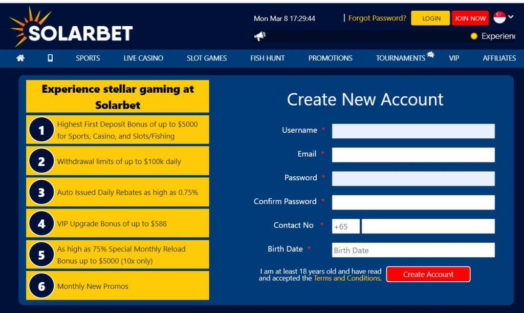 online casino solarbet